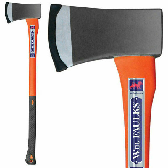 Faulks & Cox Fibreglass Felling Axe 4.5lb