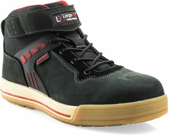 Buckler Duke BK Largo Bay Black Safety Lace Sneaker Boots