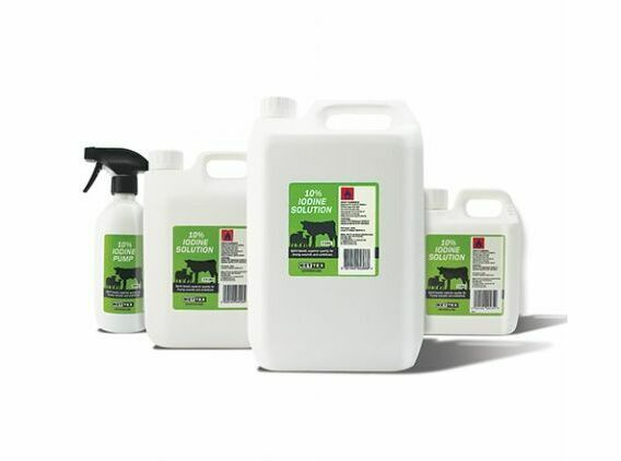 Iodine BP 10% Solution - Various Sizes