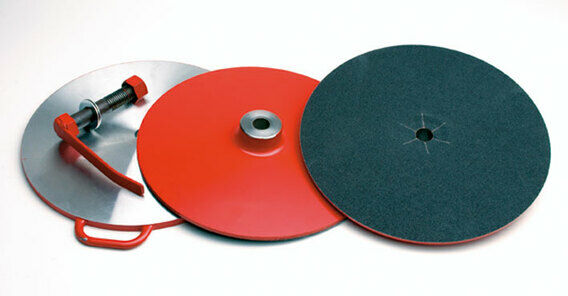 Heiniger Grinding Discs With Clamp Plate
