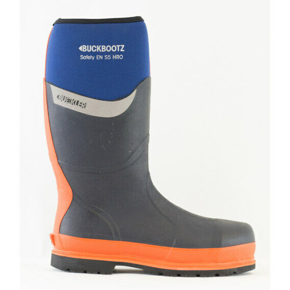 Buckler Buckbootz S5 BBZ6000BL Blue Safety Wellington Boots
